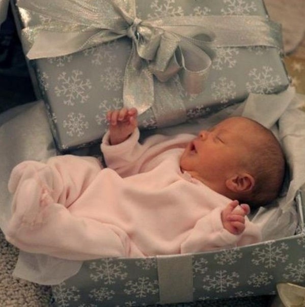 Is Your Little One A Christmas Baby Sarah Beeson Mbe