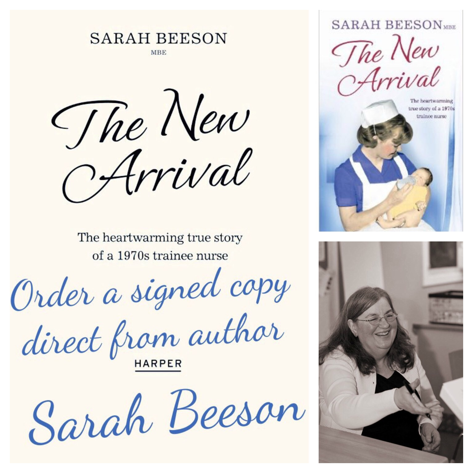 Signed copies of The New Arrival