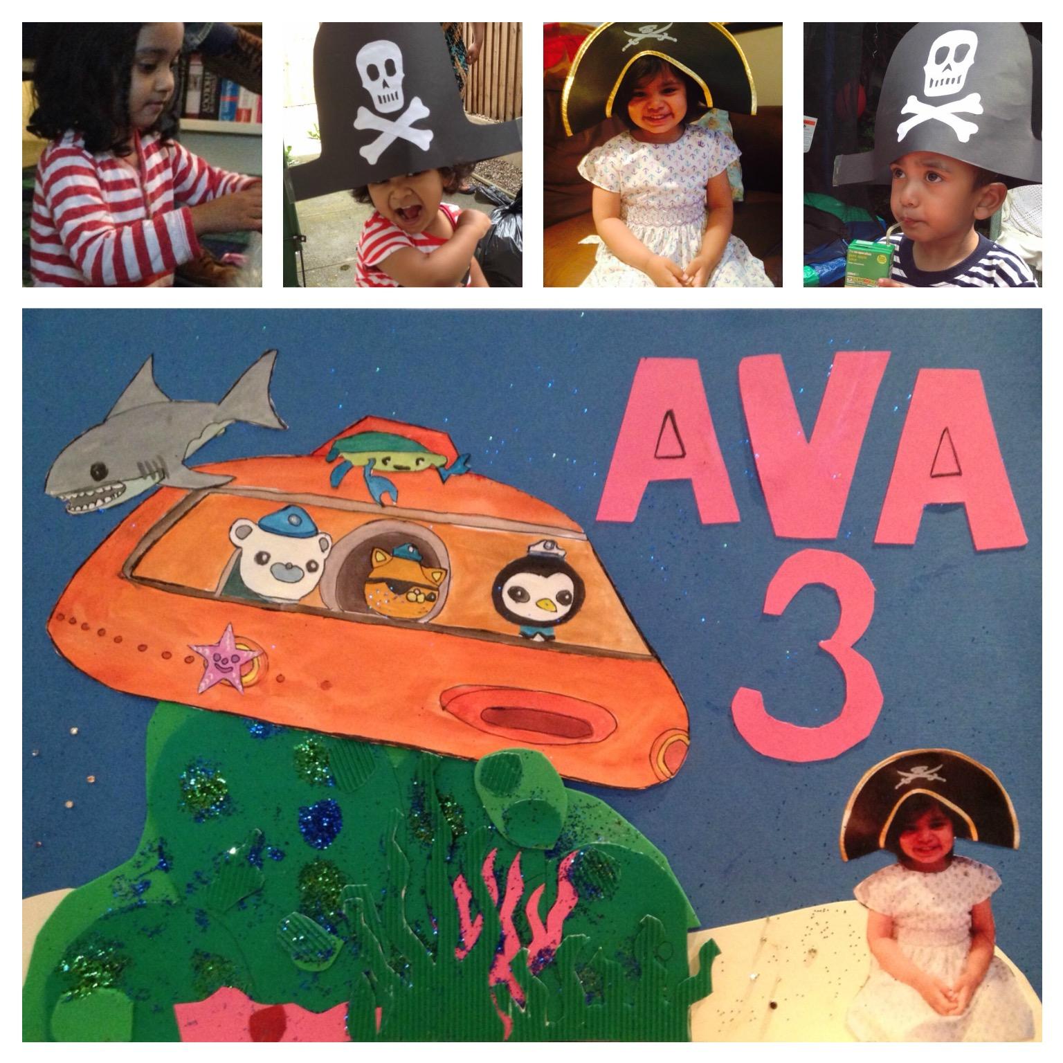 Ava third birthday