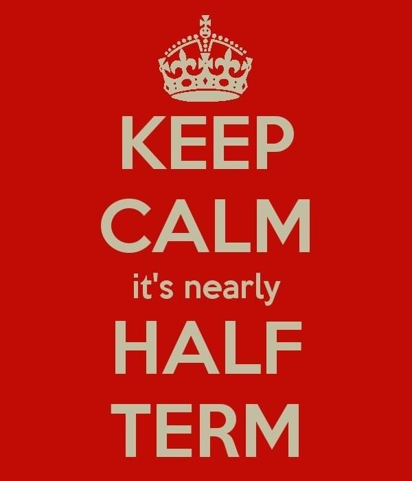 half term calm