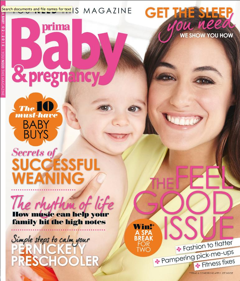Prima Baby cover Feb 2015